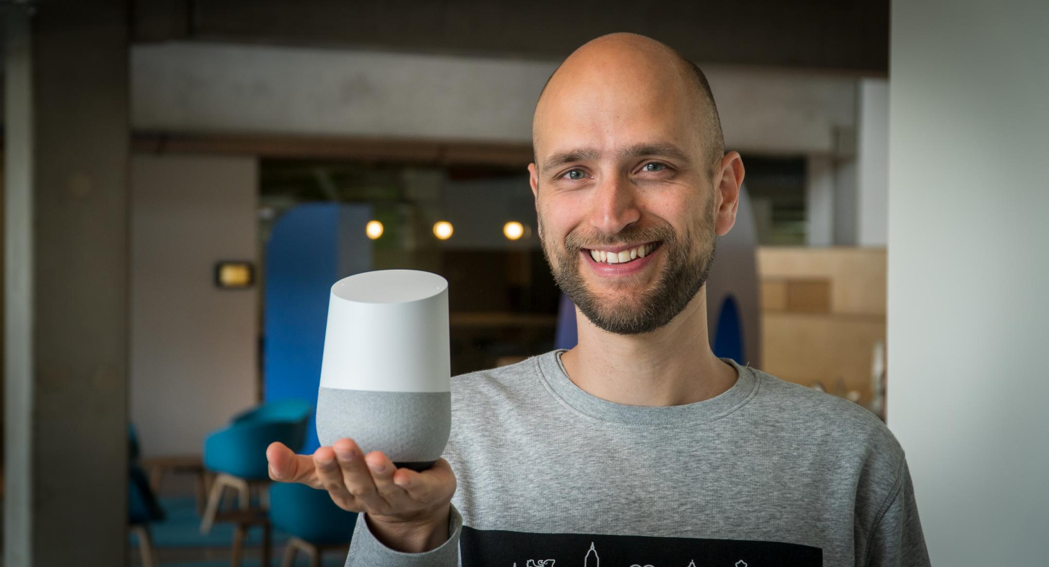 Pieter Moons en Google Home