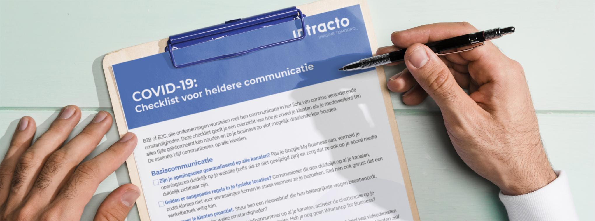 COVID-19: Checklist heldere communicatie