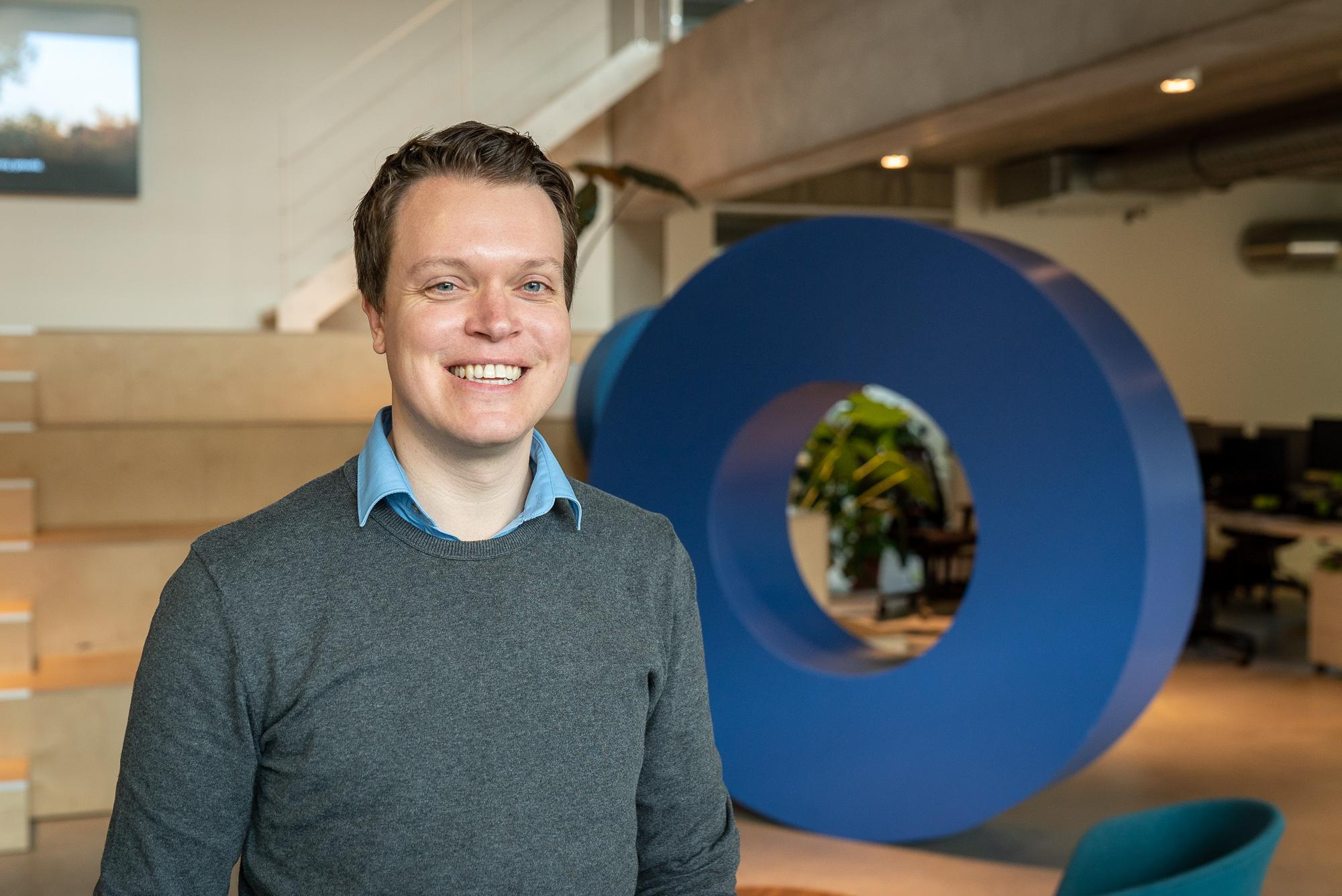 Mathias Vissers, innovatie-expert bij digital agency Intracto