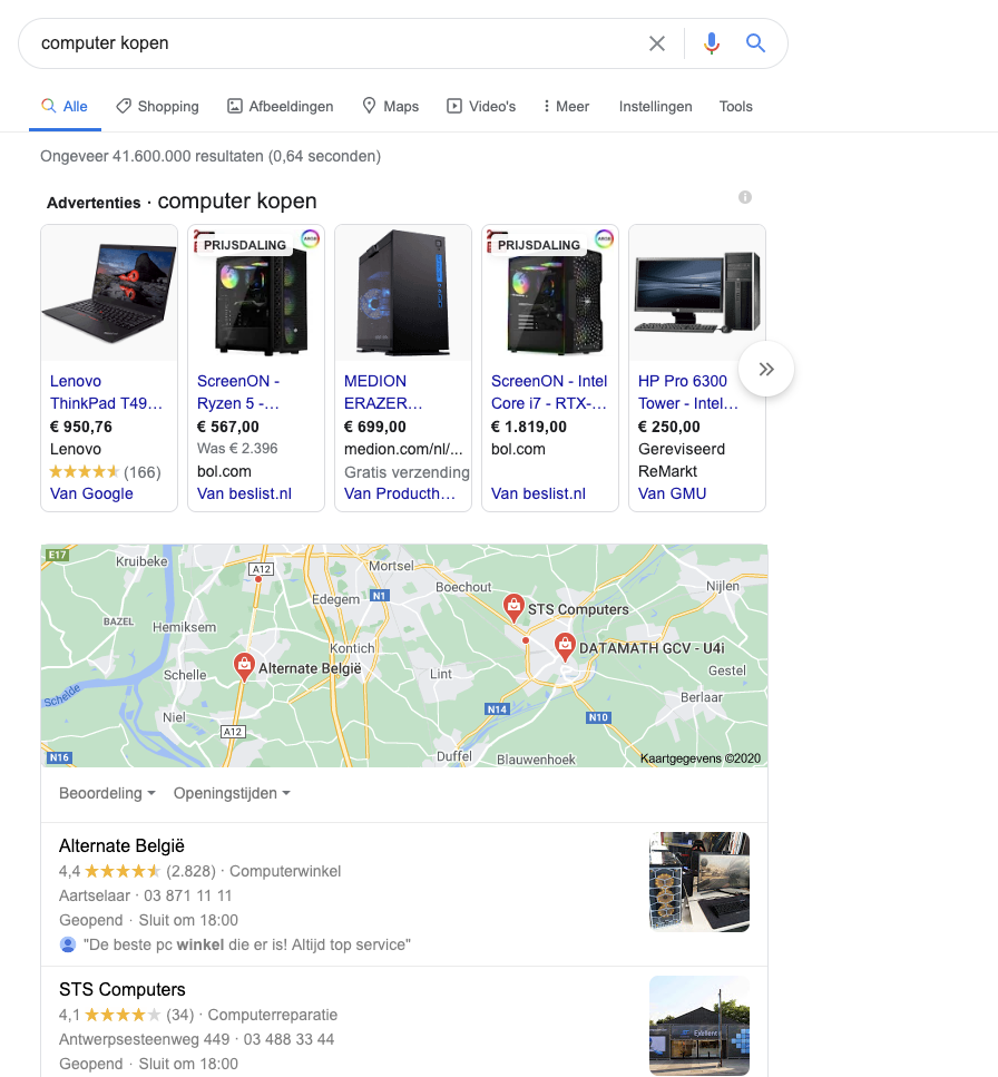 lokale-seo-strategie-serp
