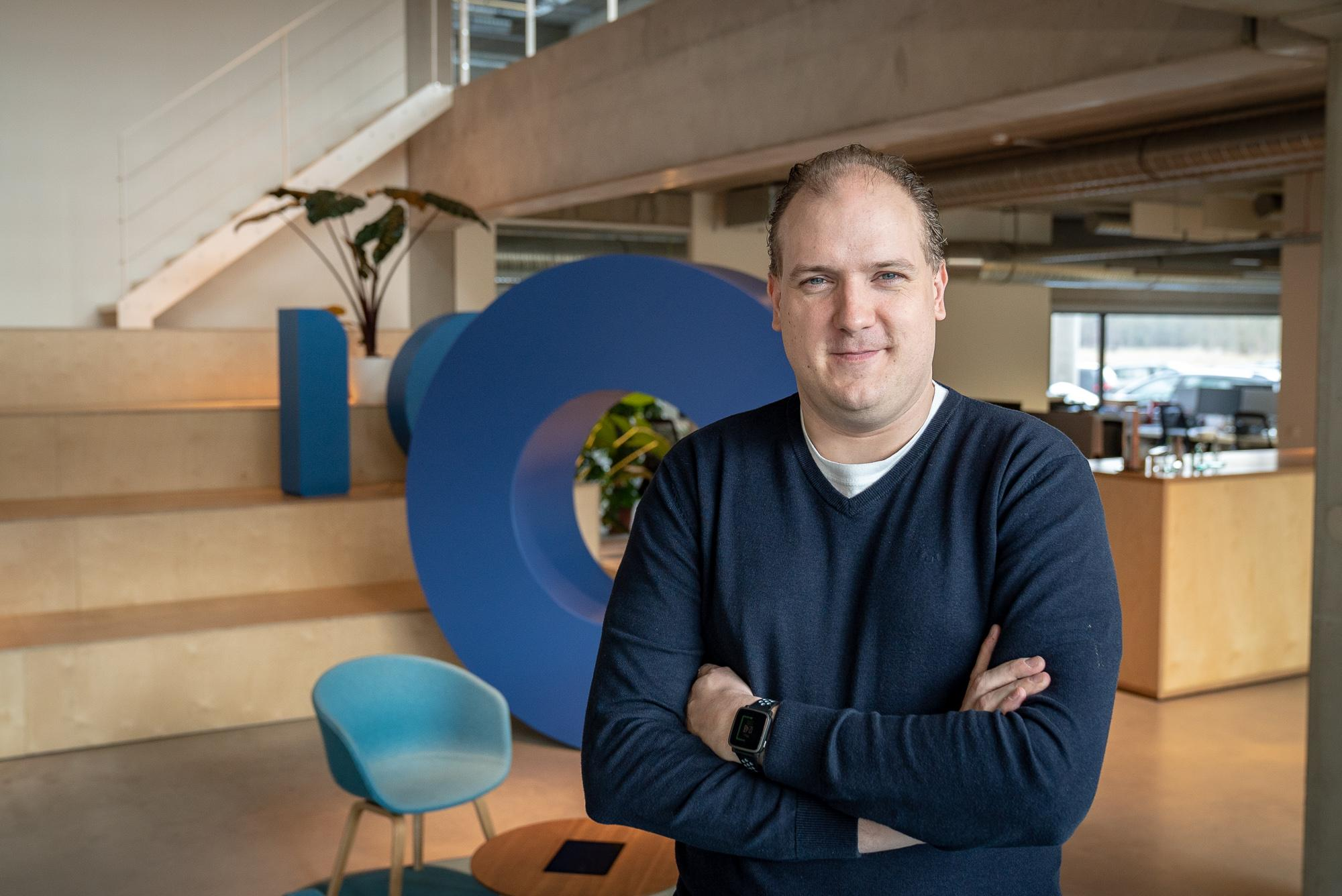 Tom Van Mierlo, Business Developer en partner bij digital agency Intracto