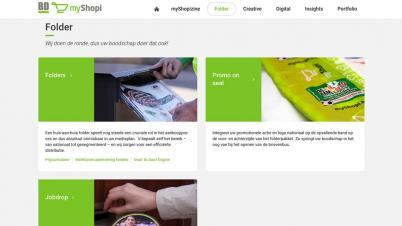 Screenshot website myShopi