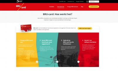 Screenshot van Brucard.com