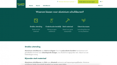 Screenshot website KwadrO