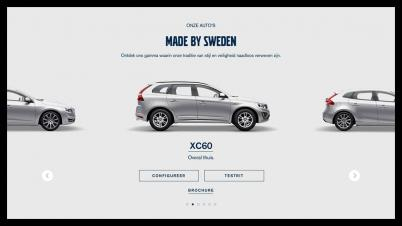 Volvo: 68 websites in een klap